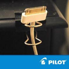 Super vychytávka na mobilní nabíječku! #pilotpen #good #ideas