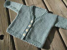Anacapa Knits: Free Pattern: Springtime Baby Cardi