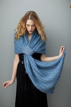 Grecian Turn pattern by Cathy Carron #knit