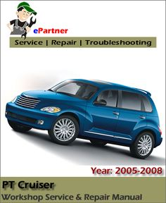 2005 pt cruiser chrysler manual servicio y diagn en espa ola rh pinterest com 2002 Chrysler PT Cruiser Touring 2007 PT Cruiser Owner's Manual