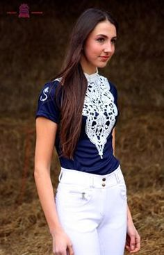 Chillout Horsewear Lace Competition Shirt