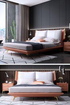Bedroom Cupboard Designs, Small Bedroom Designs, Modern Bedroom Design, Contemporary Bedroom, Bed Designs, Home Bedroom, Bedroom Decor, Bedroom Interiors, Bedroom Ideas
