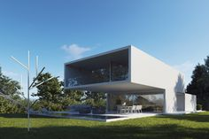 Image 3 of 22 from gallery of Lake House / Fran Silvestre Arquitectos. Photograph by Fran Silvestre ArquitectosImage 3 of 22 from gallery of Lake House / Fran Silvestre Arquitectos. Arch House, Brick Architecture, Residential Architecture, Building Facade, Building Design, Fachada Colonial, Lake Pictures, Austin Homes, Dream House Exterior