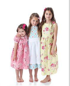 Girls dress pattern - Precious Dresses, Classic Bodice Style, Boutique Sewing Pattern PDF E-Book by Scientific Seamstress