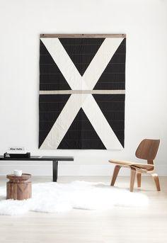 Louise Gray Quilt Hanger No. 3