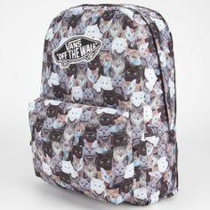 @Vans #ASPCA Realm Backpack #cats #kittens #kitties
