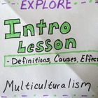 Guide students through an introduction to Multiculturalism that is perfect for note-taking with Interactive Notebooks.  Keep students engaged with ...