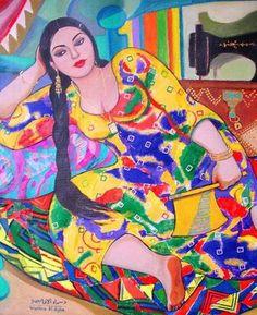 Iraqi Artist - Wassma Alagha