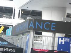 Home Plate entrance to Marlins Park