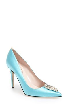 Women S Sjp By Sarah Jessica Parker Tempest Pointy Toe Pump Nordstrom Exclusive 3 4 Heel Bridal Shoeswedding