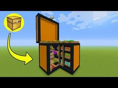 "Minecraft Tutorial: How To Make A Chest House ""Storage House"" - YouTube"