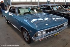 Muscle Car Spotlight: 1966 Chevrolet Chevelle SS 396 Convertible