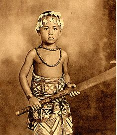 Young Toa O Samoa in his Siapo.  A really GREAT portraiture shot is timeless!