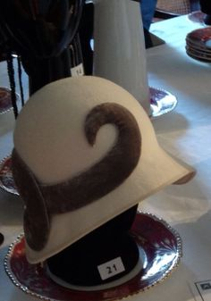 Miss Phryne Fisher's finest cloche hat ~ Miss Fisher's Murder Mysteries