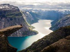Trolltunga, Norway  Photo by Irene Prikryl