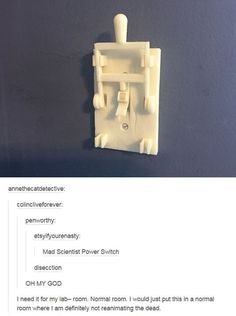 Awesome light switch