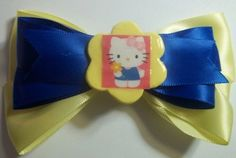 Hello Kitty Hair Bow by JENSTARDESIGNS on Etsy, $3.50