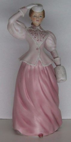 "The Lenox Fine Porcelain Gibson Girls Collection ""Bracing the Northern Winds"""