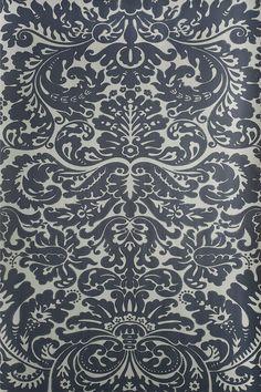 Silvergate BP 878 - Wallpaper Patterns - Farrow & Ball