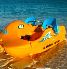 Peddle Boats for guest use at The Alexandra, Turks & Caicos