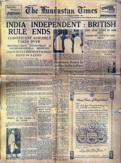Independence Day History of India from 1757 to After the battle of Plassey India lost its Independence. The fight for Independence Day started in Finally, India got independence in 1947 History Of India, World History, Family History, Independent Day, Birth Of Nation, Colonial India, British Colonial, India Independence, 15 August Independence Day