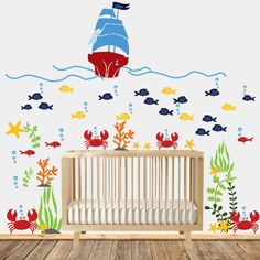 Wall decals nursery Nursery wall decal by wallartdesign on Etsy