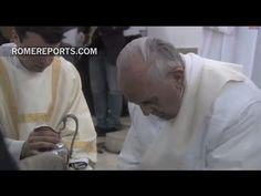 Francisco visitará la prisión de Roma el próximo Jueves Santo