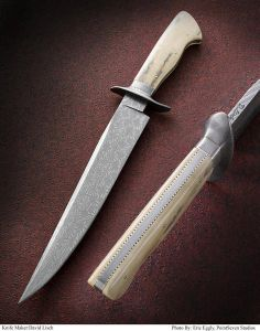 Custom made knife - beautiful.