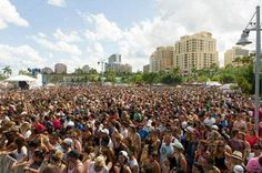 30 Things to Know Before You Move to West Palm Beach 2. You'll Start the Summer Early at SunFest The largest waterfront music and arts festival in Florida takes place downtown every May. The lineup is eclectic—Who do you want to see; MGMT, the B-52s, or Snoop (insert species)?—and the vibe family friendly. It's also your last best chance to spend five days in the South Florida sun; wait until June, and you'll literally burst into flames. (Figuratively.)