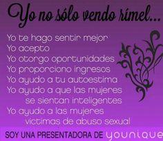 Porque me encanta Younique? Somos más que un Maquillaje!!! #Younique_ByYolanda…