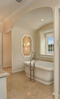 Luxurious Master Bath Amazing Bathrooms, Master Bath, Alcove, Bathtub, Luxury, Standing Bath, Master Bathroom, Bath Tub, Bathtubs