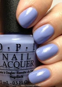 OPIs Youre Such a BudaPest is perfect for a spring dress and a pair of wedges, recommends our nail tech, Carissa.