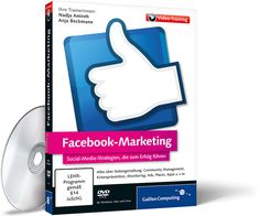 DVD Facebook-Marketing von @get noticed! Inhalt: Facebook-Strategien, Seitengestaltung, Community Management, Krisenprävention und Monitoring – inkl. Ads, Places, Apps