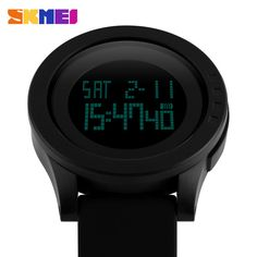 2016 New Brand SKMEI Watch Men Military Sports Watches Fashion Silicone Waterproof LED Digital Watch For Men Clock digital-watch Do you want it  #shop #beauty #Woman's fashion #Products #Watch