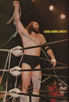 king kong brody, bruiser brody, wrestling