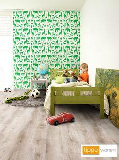 Saffier Laminaat in slaapkamer of kinderkamer