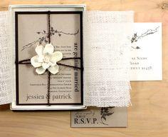 Ivory Romance  Rustic Chic & Elegant Boxed Wedding by BeaconLane, $14.50