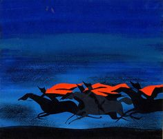 """Cinderella Horses"" by Mary Blair   Flickr - Photo Sharing! Art Disney, Disney Artists, Cartoon Art Museum, Cinderella Cartoon, Animation Disney, Mary Blair, Film D'animation, Visual Development, Sculpture"