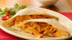 Chicken Enchilada Foldovers. Yummy and easy.