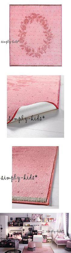 Rugs 154001 Ikea Rug Raring Kids Children Room Low Pile Pink S Bedroom Play