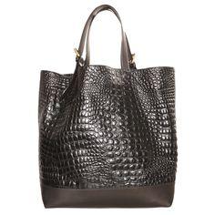 Marc Jacobs Croc Leather Shopper  bags  black  shopper  designer Shopper Bag  e0383991cb7c9