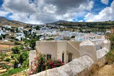 Great view over Lefkes - one of the most traditional villages on #Paros island #Greece #Greekislands