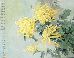 chinese chrysanthemum painting