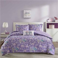 Mi Zone Abby Comforter Set ($75) ❤ liked on Polyvore featuring home, bed & bath, bedding, comforters and mi zone bedding