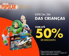 Especial Dia das Crianças com até 50% de desconto na Casas Bahia #cuponamao #EspecialDiaDasCrianças http://cuponamao.blogspot.com.br/2016/10/casas-bahia-especial-dia-das-criancas.html