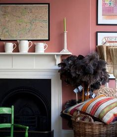 this interior by Ben Pentreath; 5 Favorites: Rosy Rooms : Remodelista