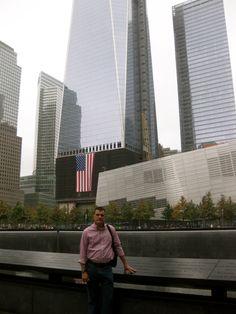 At Ground Zero Memorial - New York City