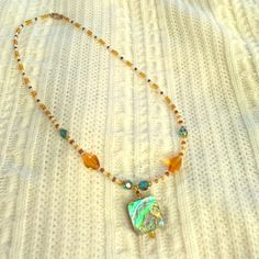 New Multicolored necklace! Beautiful beaded multi colored necklace Jewelry Necklaces