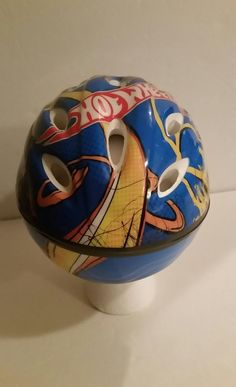 Bike Helmet Hotwheels Blue with Designs Toddler Bicycle Helmet | Sporting Goods, Cycling, Helmets & Protective Gear | eBay!