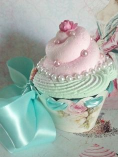 Marie Antoinette Fake Cupcake Let Them Eat by FakeCupcakeCreations